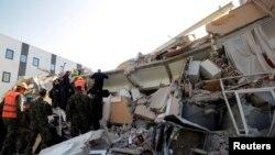 Последствия землетрясения в Албании. 26 ноября 2019 года.