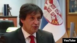 Братислав Гашич, уволенный премьер-министром Сербии с поста министра обороны страны.