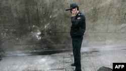 (архівна фотографія) Поліцейський на місці теракту