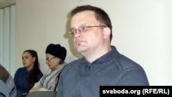 Валер Булгакаў падчас прэзэнтацыі