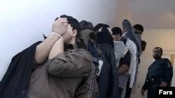 گروهی از دستگیرشدگان روز یکشنبه