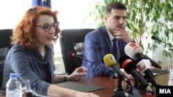 "Прес конференција на ДИК за презентација на медиумска кампања ""Отворени врати""."