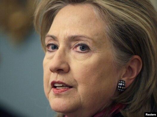 Hillari Klinton daje izjavu povodom objavljivanja tajnih dokumentara, 29. novembar 2010.