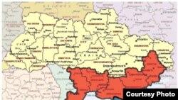 Будет ли изменена карта Украины?
