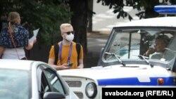 Антон Трафімовіч падчас трансьляцыі 15 ліпеня