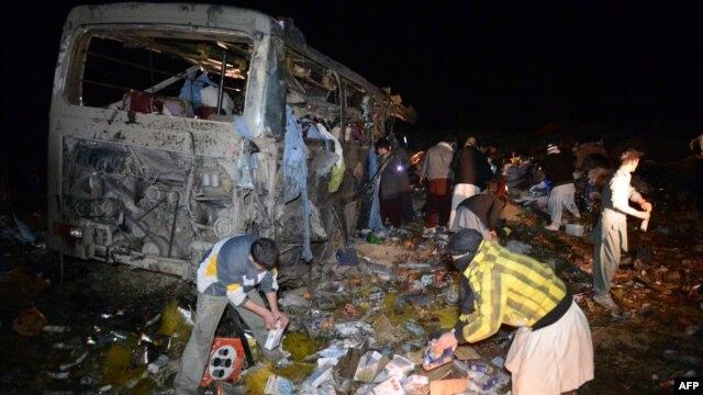 این انفجار در ۵۵ کیلومتری جنوب غرب کویته رخ داده است و هنوز شخص یا گروهی مسئولیت آن را به عهده نگرفته است.