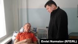 Кубат Оторбаев навестил Асана Усенбаева.