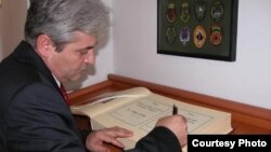 Лидерот на ДУИ Али Ахмети.