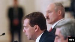 Главные персонажи предстоящего саммита ОДКБ: президенты Армении, России и Белоруссии