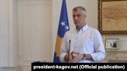 Архивска фотографија- претседателот на Косово Хашим Тачи