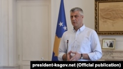 Претседателот на Косово Хашим Тачи