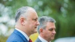 """Igor Dodon: """"Am discutat în detaliu despre sectorul bancar"""""""