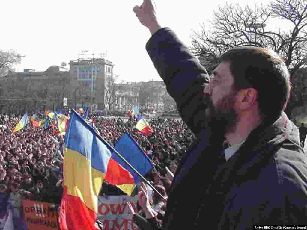 18 februarie 2002, liderul PPCD Iurie Roşca