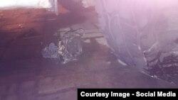 Фото устройства, обнаруженного под машиной Григория Соломинского