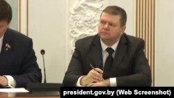 Алег Макараў, кіраўнік дзяржаўнага Беларускага інстытуту стратэгічных дасьледаваньняў (БІСД)
