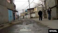 Улица поселка Балаханы