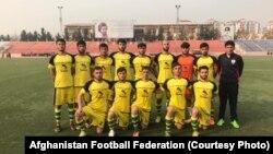 آرشیف: یک تیم فوتبال در کابل