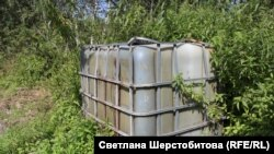 Баки для сбора нефти