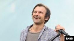 «Океан Ельзи» тобының әншісі Святослав Вакарчук.