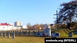 Вайсковыя могілкі ў Берасьці, дзе пахаваныя жаўнеры арміі Булак-Балаховіча.