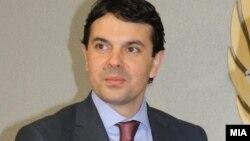Министерот за надворешни работи на Македонија, Никола Попоски