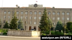 Резиденция президента Нагорного Карабаха в Степанакерте