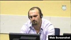 Šefčet Kabaši u sudnici Haškog tribunala, 31. kolovoz 2011.