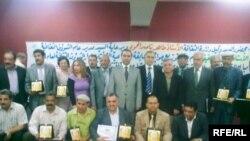 مجموعة من المبدعين يفوزون بجائزة الابداع في بغداد