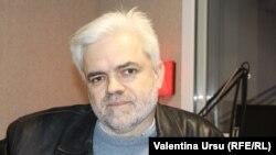 Valentin Balan în studioul Europei Libere