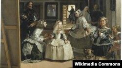 """Диего Веласкес. """"Менины"""" (Фрейлины), 1656 г. Музей Прадо, Мадрид"""