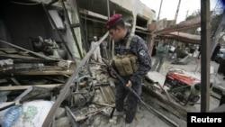 Ilustrim me pamje arkivore nga Iraku
