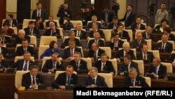 В парламенте Казахстана. Иллюстративное фото.