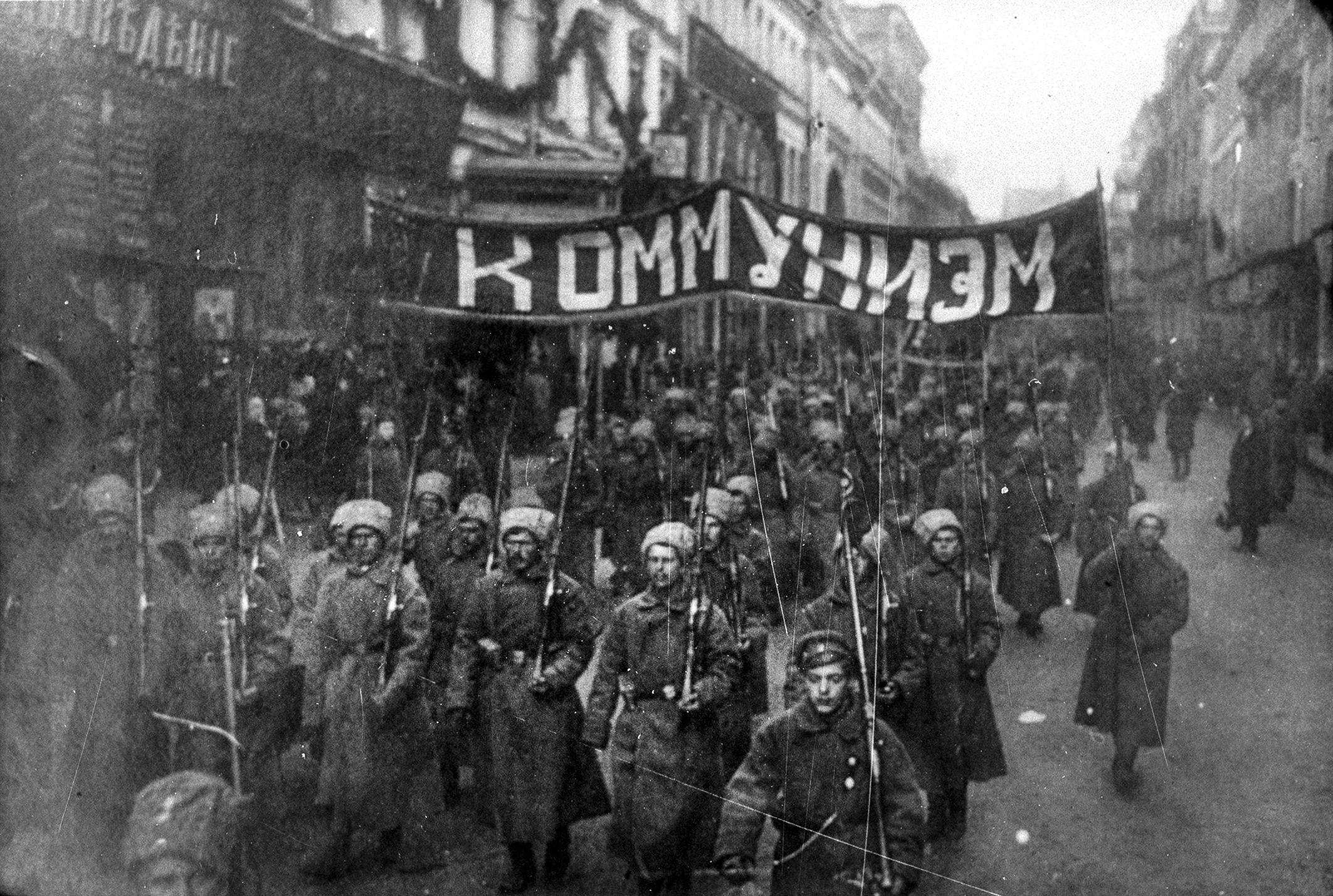Фотографии октябрьской революции