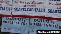 Publicitate electorală în ziua referendumului