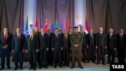 ҰҚШҰ-ға мүше елдердің сыртқы істер және қорғаныс министрлері. Сочи, 23 қыркүйек 2013 жыл