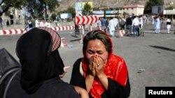 Աֆղանստան - Քաբուլ, պայթյուններից հետո, 23-ը հուլիսի, 2016թ․