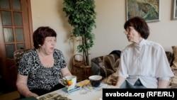 Галіна Карчэўская і Людміла Рабкова