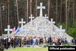 21 травня 2017 року, Биківня. Офіційне вшанування пам'яті жертв репресій