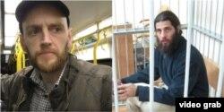 Британець Бен Стімсон і бразилець Рафаель Лусваргі, які воювали на Донбасі на боці бойовиків