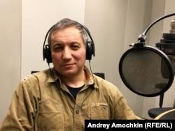 Сервер Абкеримов в студии Радио Свобода