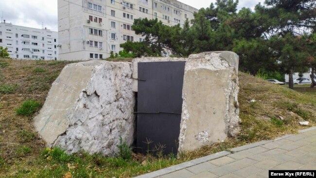 Погреб боезапаса 31-го ДОТа