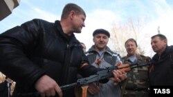 Прарасейскія актывісты ў Крыме