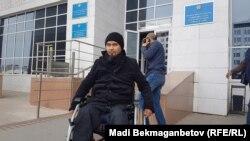 Житель Астаны Жасулан Сулейменов, осуждённый по обвинению в терроризме. 20 сентября 2018 года.