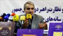 محمدباقر نوبخت، معاون رئیسجمهوری، جزئیات بودجه ۹۳ را برای خبرنگاران تشریح کرد