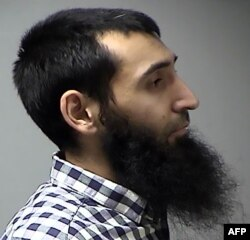 Uzbek national Sayfullo Saipov, the suspect in the deadly New York City attack on October 31