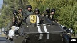 Українські військові на Донбасі, архівне фото