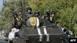 Ukrayna ordusunun əsgərləri