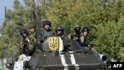 Украинские войска под Мариуполем