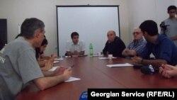 ადგილობრივი ჟურნალისტების შეხვედრა გორში