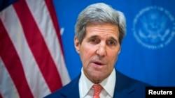 Американскиот државен секретар Џон Кери